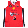 iAthletic Perth Lynx Replica Jersey 20/21 Home (Red) Burrows