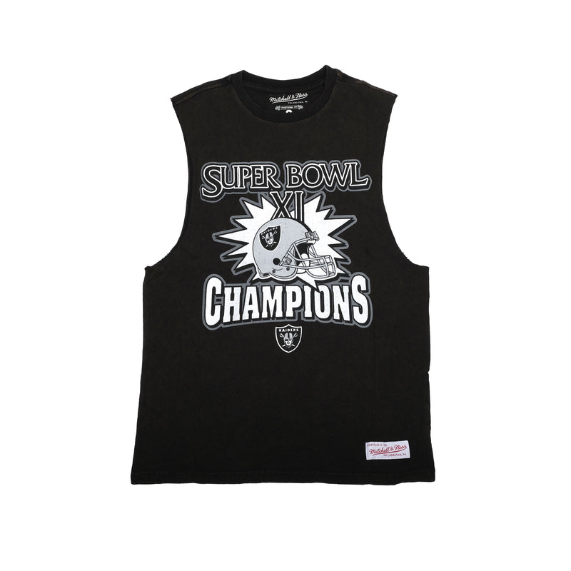 Oakland Raiders Super Bowl XI Muscle tee