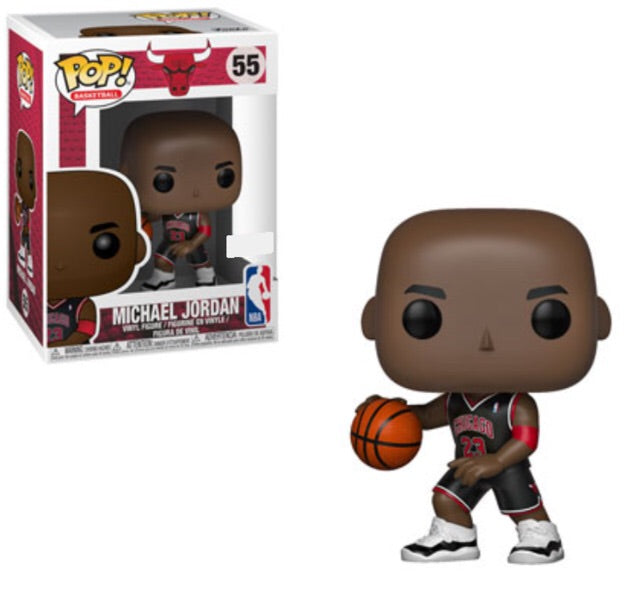Pop Vinyl NBA Michael Jordan (Black Uniform)