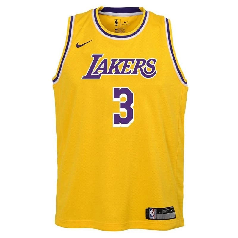 Youth Anthony Davis Icon Swingman Jersey (Lakers)