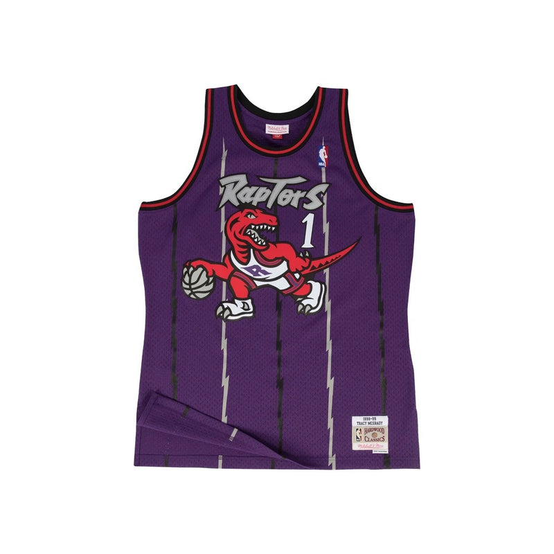 Tracy McGrady Hardwood Classic Jersey (1998-99 Raptors) New Cut