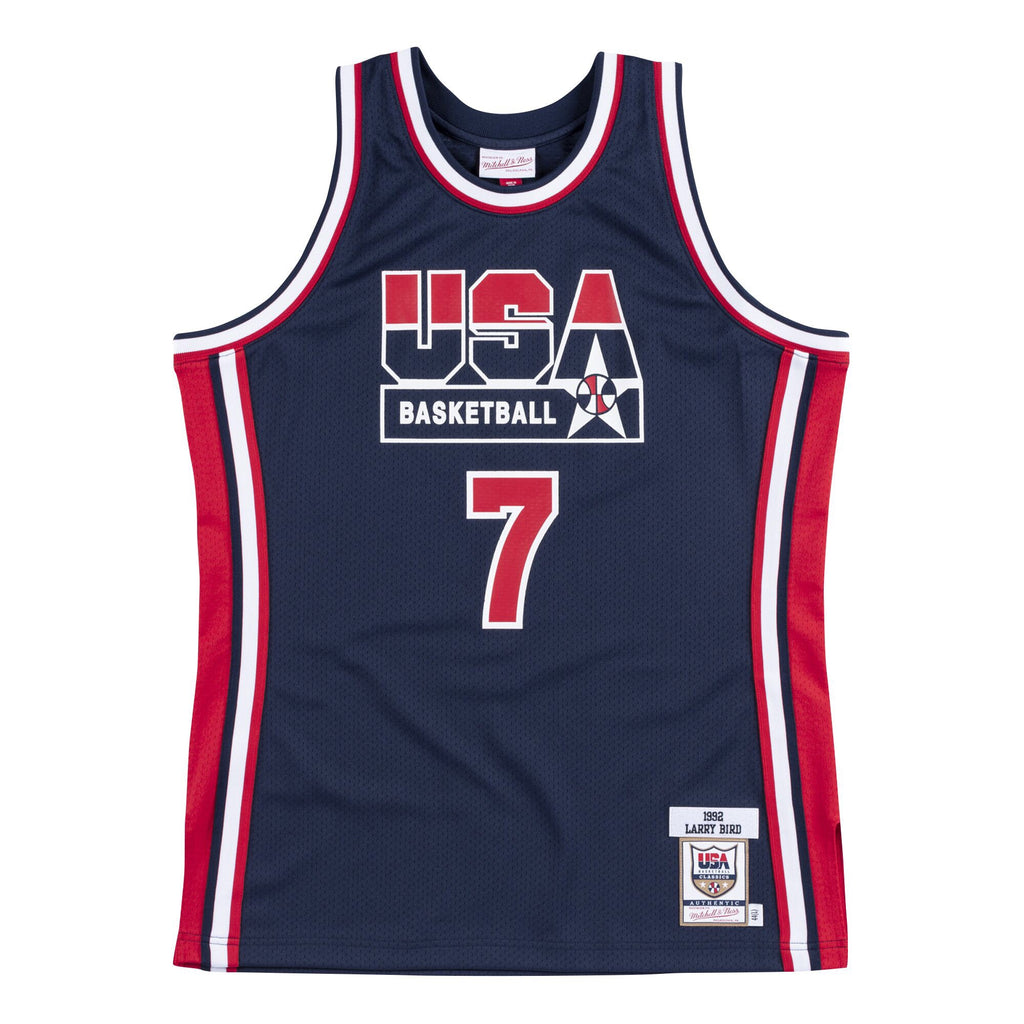Team USA 1992 Authentic Jersey Bird (Navy)