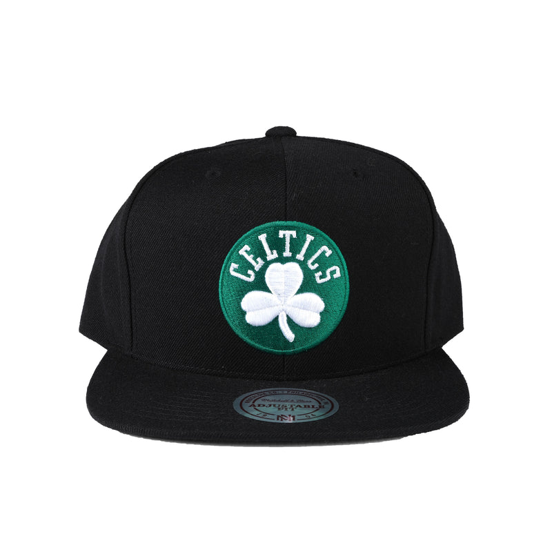 M&N Black & Team Colour Logo HC - Celtics