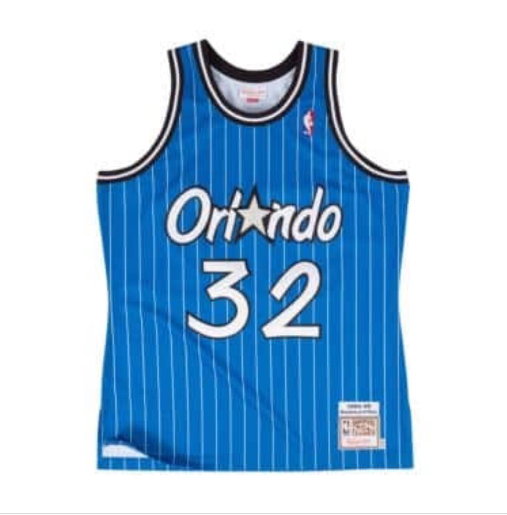 Shaquille O'neal Hardwood Classic Jersey Royal (Orlando Magic)
