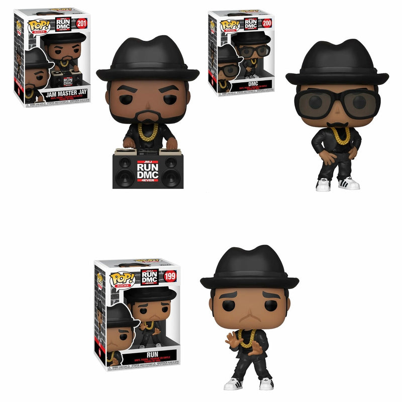 Pop! Vinyl Rocks RUN DMC (3 pack)