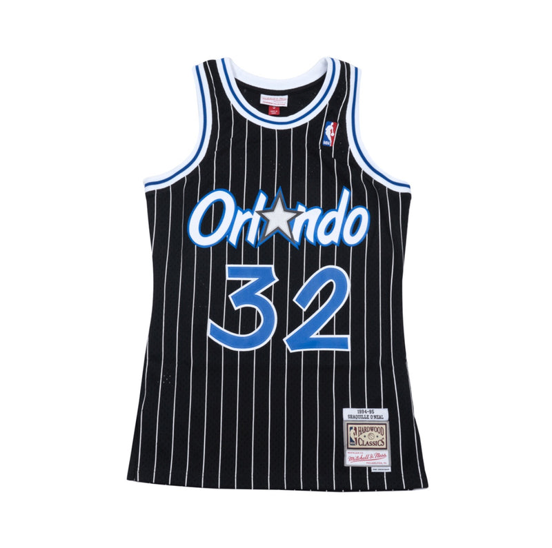 Shaquille O'neal Hardwood Classic Jersey Black (Orlando Magic 94/95) New Cut