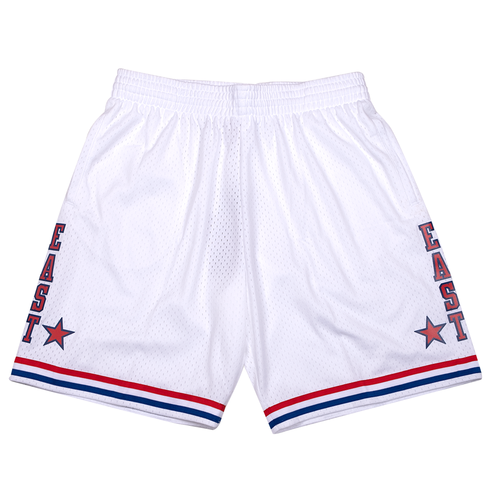 Hardwood Classic All Star Shorts White (East-85)
