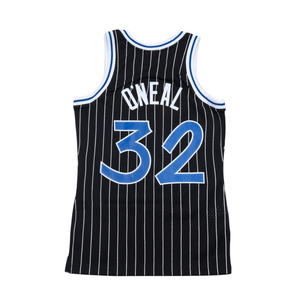 Shaquille O'neal Hardwood Classic Jersey Black (Orlando Magic) New Cut