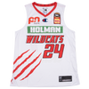 Champion Perth Wildcats 20/21 Authentic Away Jersey - Jesse Wagstaff