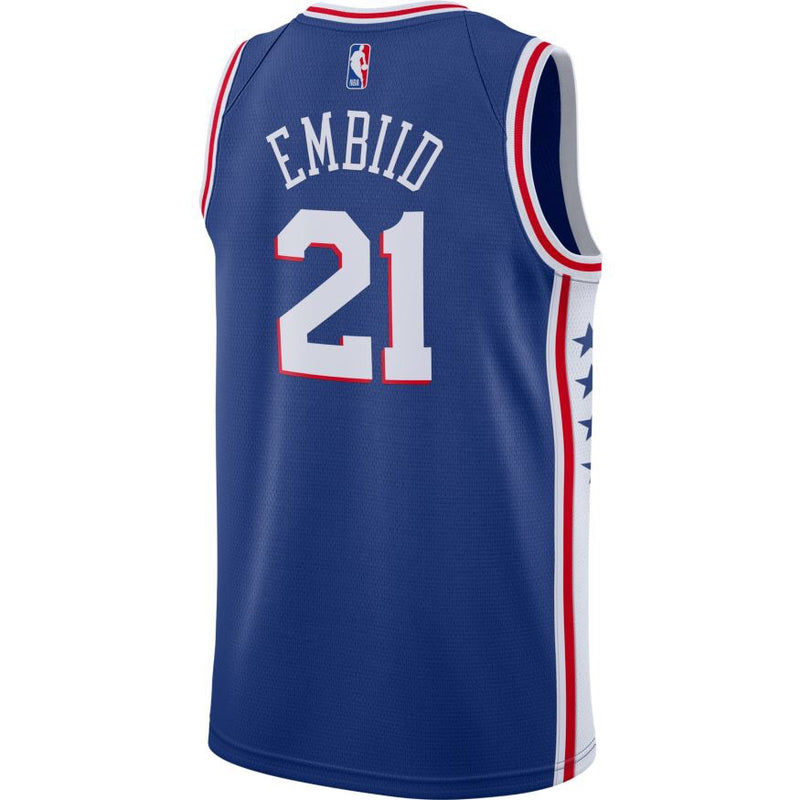 Joel Embiid Icon Edition Swingman Jersey 76ers (19/20) - CJ7678-498