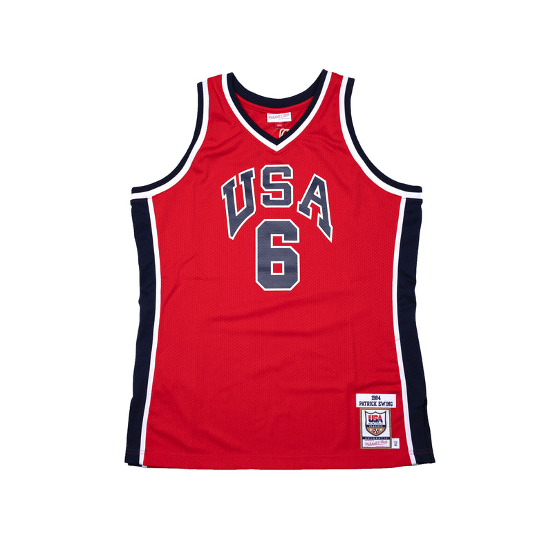 USA 1984 Olympic Authentic Jersey - Ewing