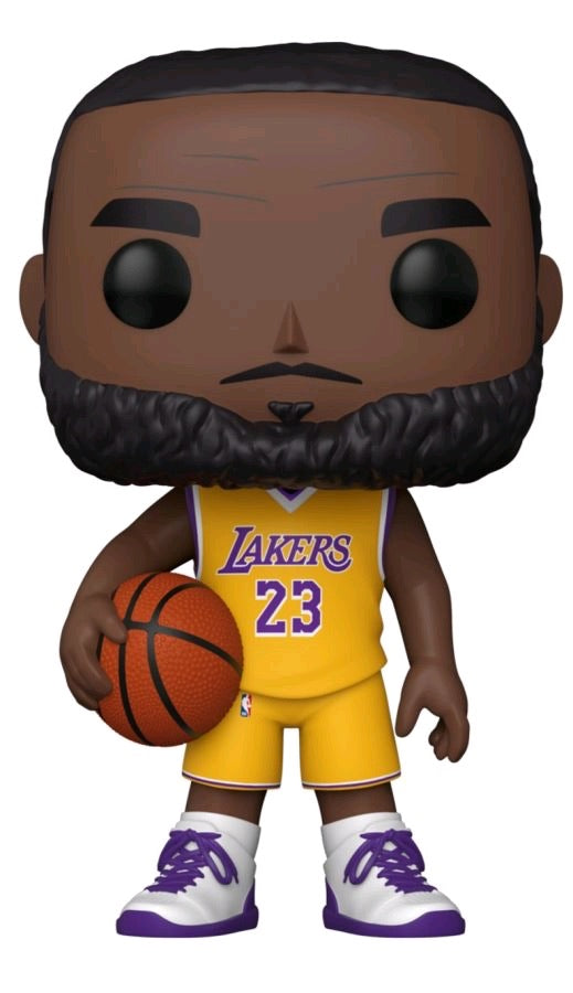 "Pop Vinyl NBA LeBron James 10"" (Yellow)"