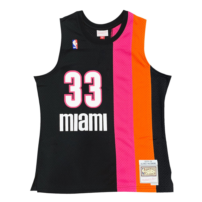 Alonzo Mourning Hardwood Classic Jersey (Miami Heat/Floridians/2005/06) New Cut