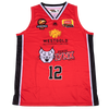iAthletic Perth Lynx Replica Jersey 20/21 Home (Red) Edwards