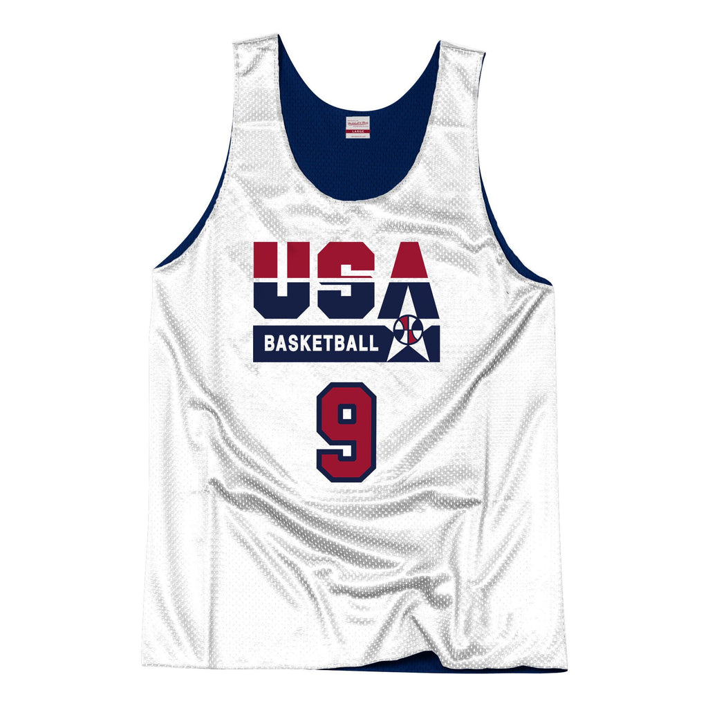 Team USA 1992 Reversible Practice Jersey Jordan 9