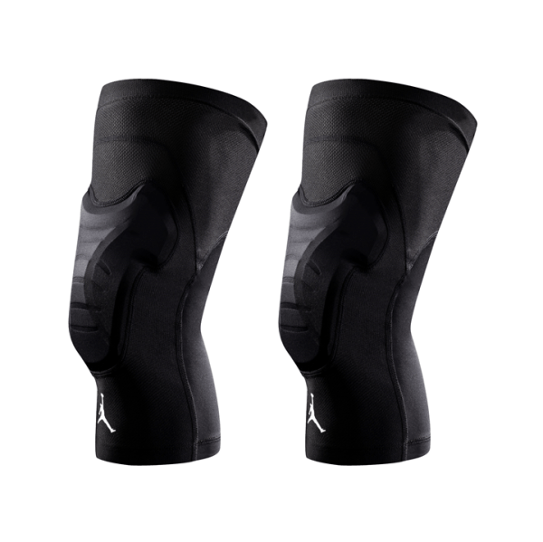 Jordan Padded Knee Sleeves Black