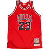 Chicago Bulls 1988/89 Authentic Jersey Jordan (Red)