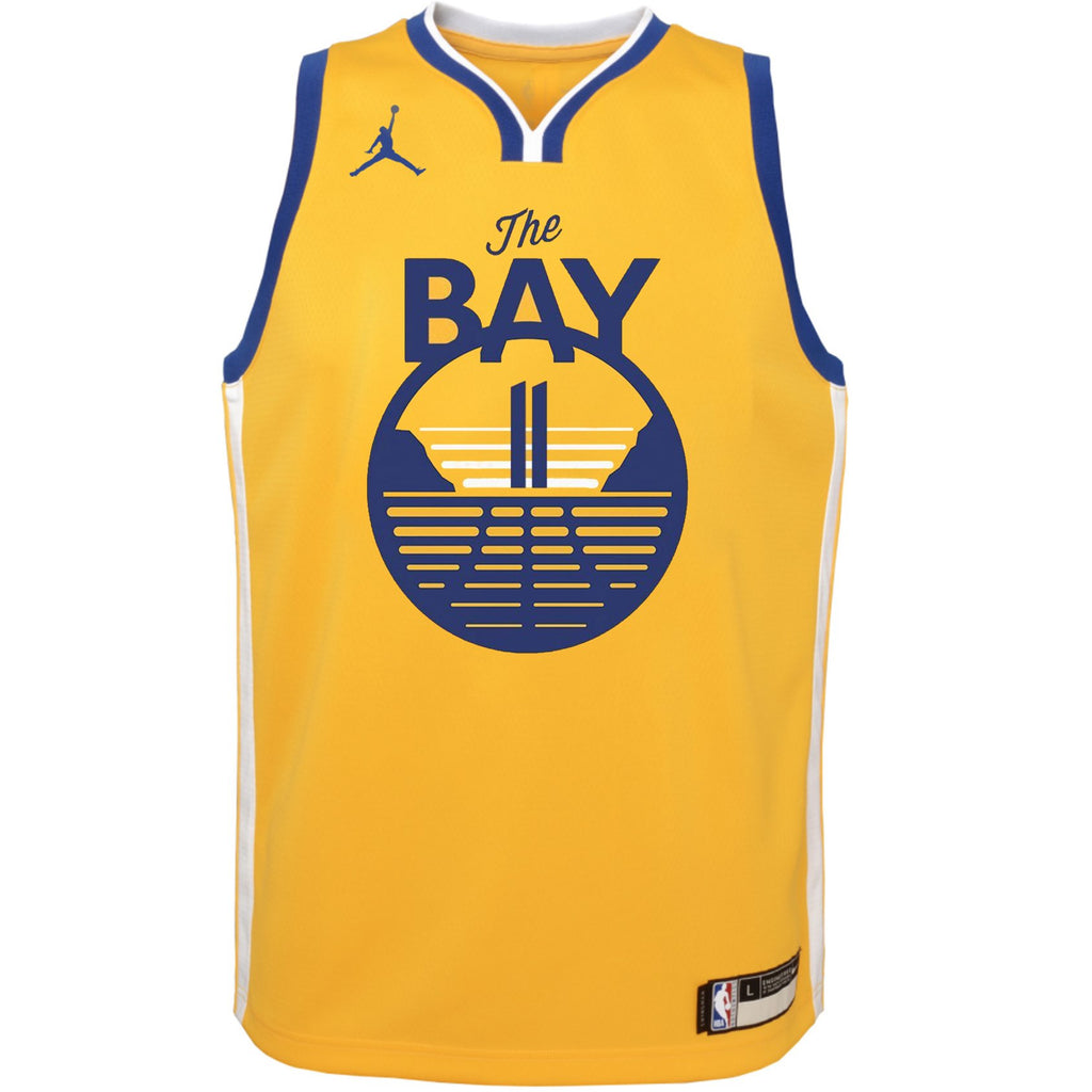 Youth Klay Thompson Statement Jersey (Warriors)
