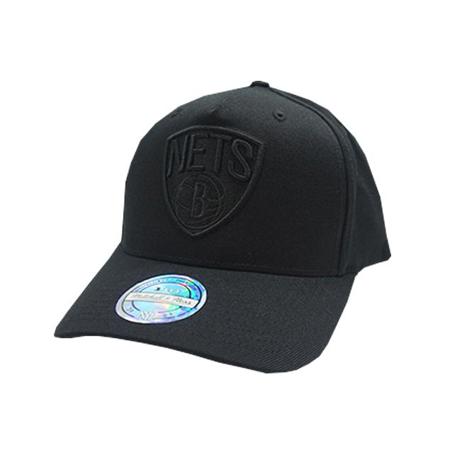 M&N 110 ALL BLACK Logo SB Nets