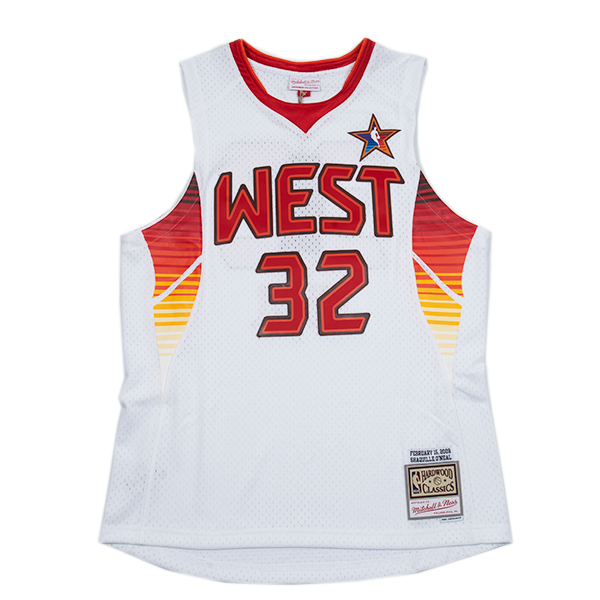 Shaquille O'Neal Hardwood Classic Jersey  (West All Star 2009)
