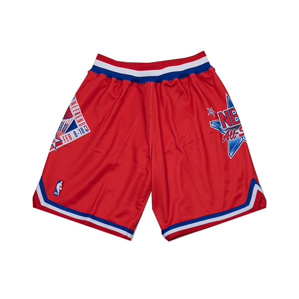 Hardwood Classic Authentic Short (All Star West '91 Red)