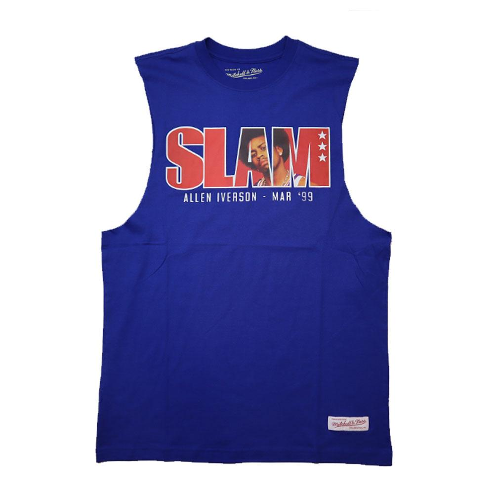 Mitchell & Ness Slam Muscle Tee (Iverson)