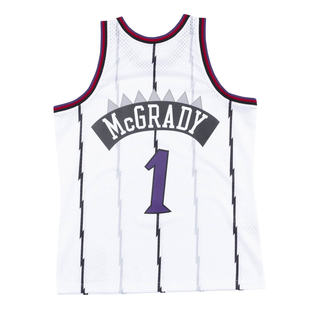 Tracy McGrady Hardwood Classic Jersey (98-99 Raptors White)