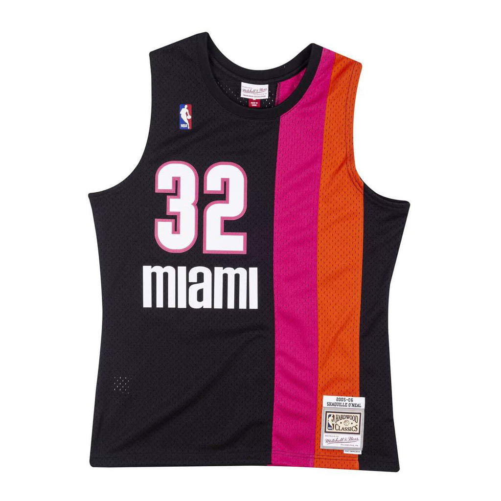 Shaquille O'Neal Hardwood Classic Jersey (Miami Heat/Floridians 05-06) New Cut