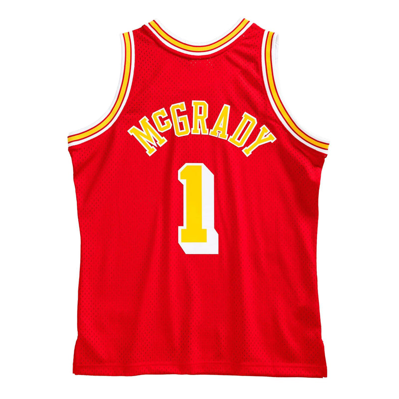 Tracy McGrady Hardwood Classic Jersey (04/05 Rockets Red) New Cut