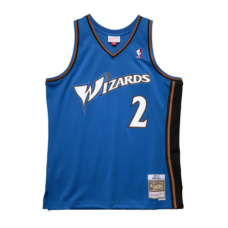 John Wall Hardwood Classic Jersey (10-11 Wizards) New Cut