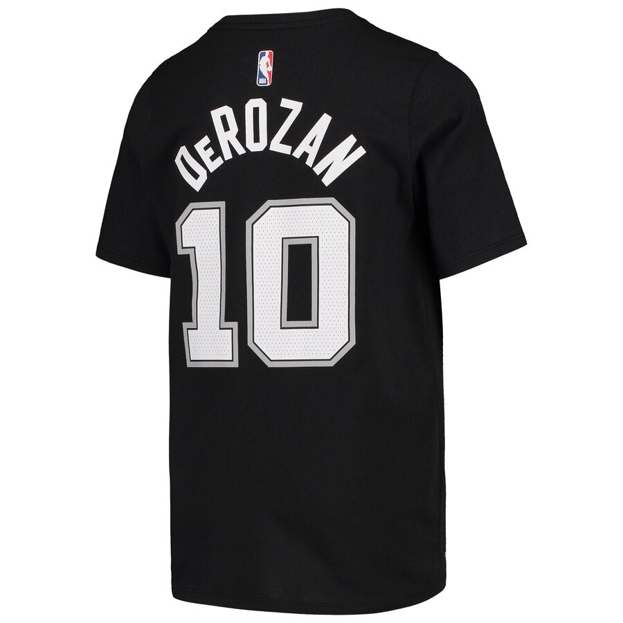YOUTH DeMar DeRozan 19/20 Icon N&N Tee (Spurs)