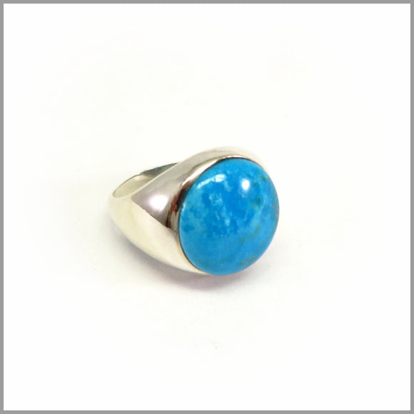 AG5.29 Turquoise Sterling Silver Ring