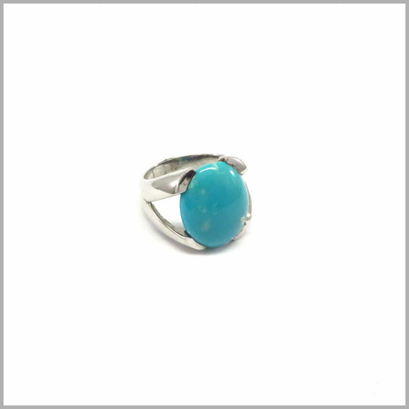 AK1.11 Amazonite Silver Ring