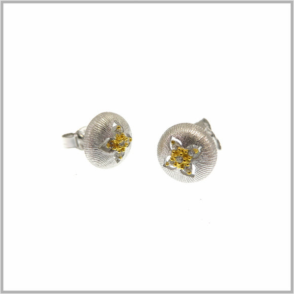 FM23.11 Russian Silver Stud Earrings