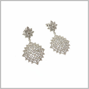 FM23.4 Royal Star Chandelier Earrings