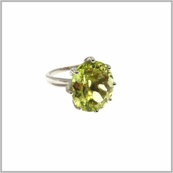 HG26.89 Protea Lemon Quartz Ring