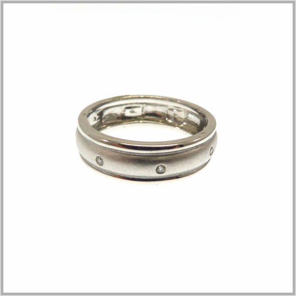 HG28.129 Brushed Silver Ring
