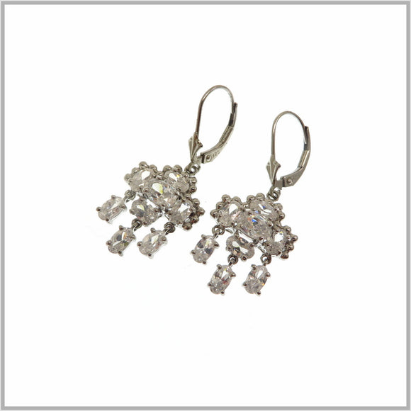HG28.229 Cubic Zirconia Chandelier Earrings