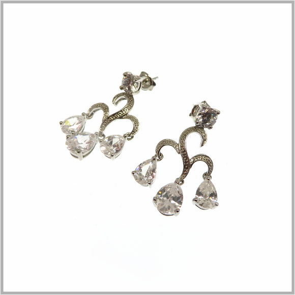 HG28.230 Fountain Cubic Zirconia Earrings