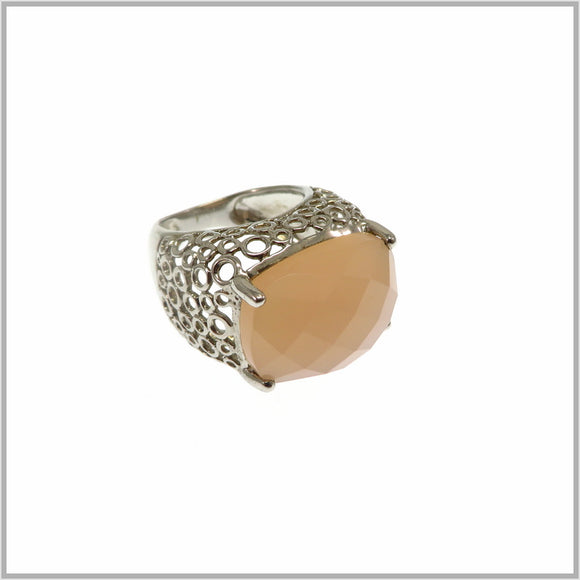 HG28.254 Vintage Chalcedony Ring