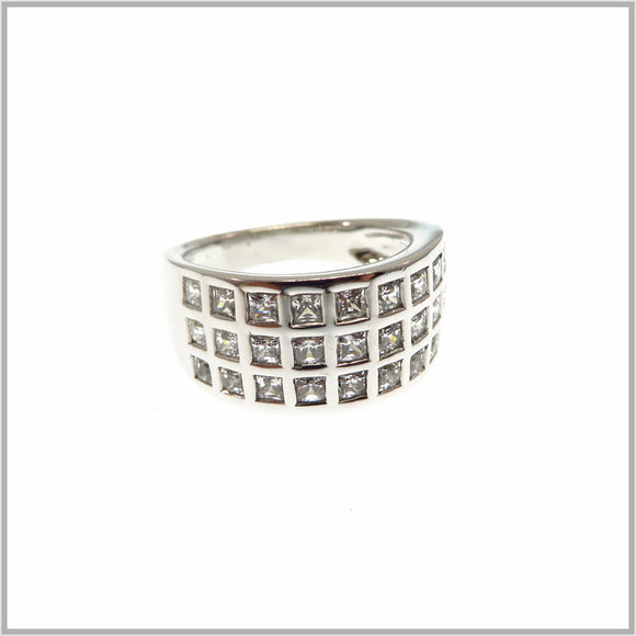 HG28.321 Solitaire Cubic Zirconia Ring