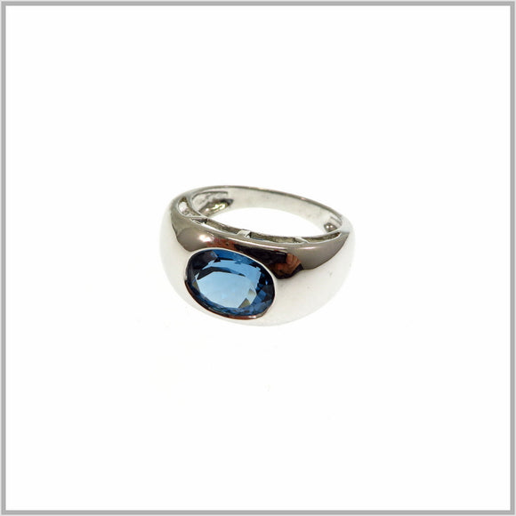 HG28.35 London Blue Topaz Ring