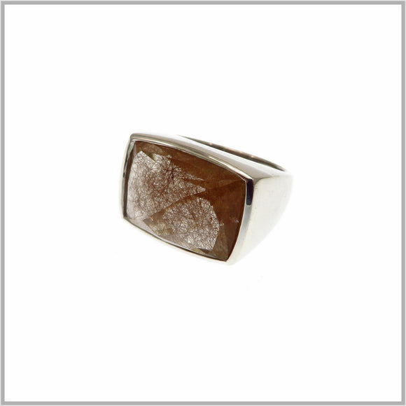 HG29.227 Rutilated Quartz Ring