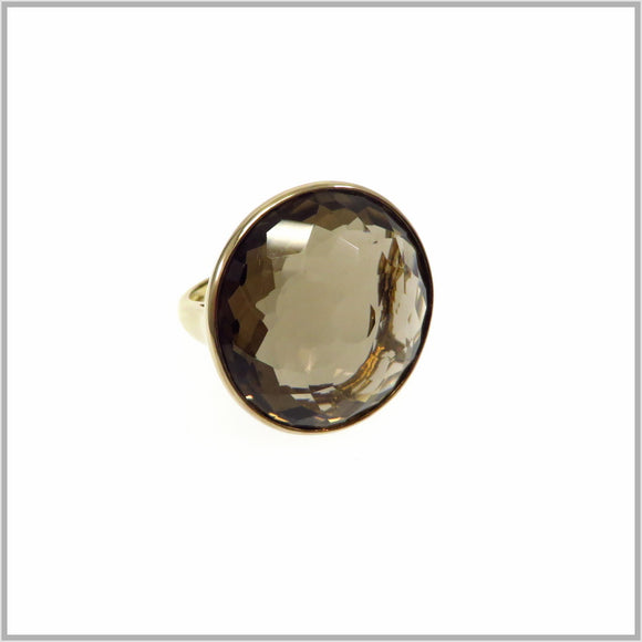 HG29.59 Smokey Quartz Ring
