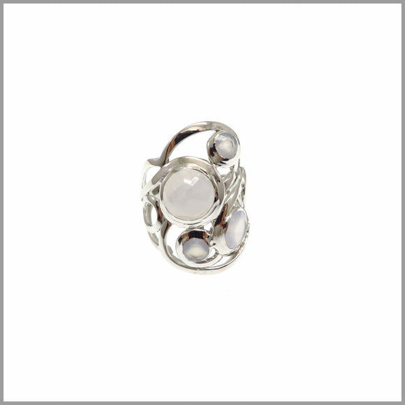 LG21.16 Chalcedony Cloud Ring