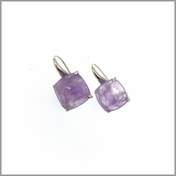 LG21.53 Amethyst Drop Earrings