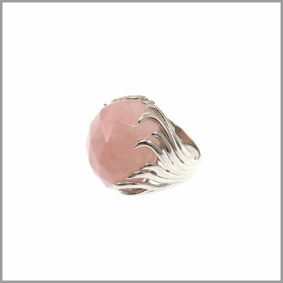LG21.5 Rose Quartz Ring