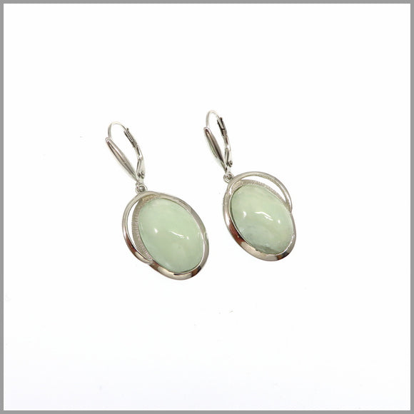 LG21.78 Aquamarine Drop Earrings