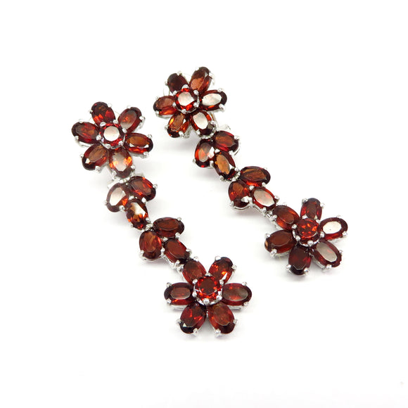 MPG4.2 Garnet Chandelier Earrings