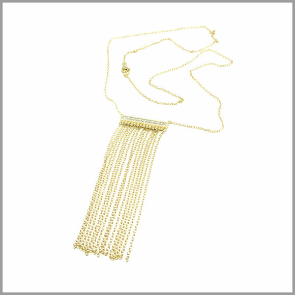 PS5.69 Gold Chain Pendant Necklace